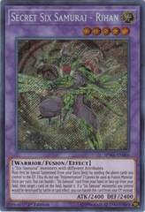 Secret Six Samurai - Rihan - SPWA-EN006 - Secret Rare - 1st Edition