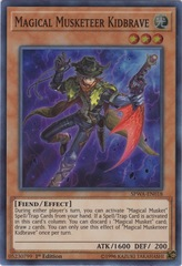 Magical Musketeer Kidbrave - SPWA-EN018 - Super Rare - 1st Edition