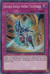 Double-Edged Sword Technique - SPWA-EN054 - Super Rare - 1st Edition