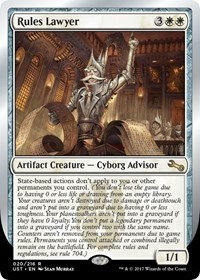 Rules Lawyer - Foil