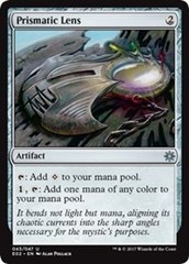 Prismatic Lens on Channel Fireball