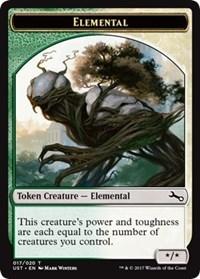 Elemental Token (017) - Foil
