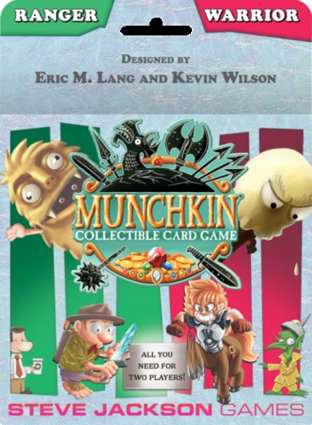 Munchkin Collectible Card Game: Ranger & Warrior Starter Set