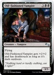 Old-Fashioned Vampire