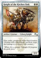 Knight of the Kitchen Sink (A - Black Borders)