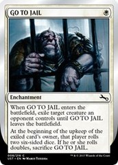 GO TO JAIL - Foil