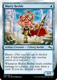 Blurry Beeble - Foil - Card Game Singles » Magic Singles