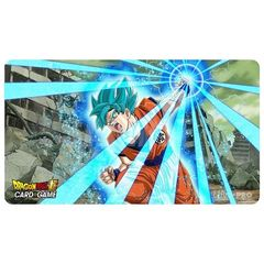 Ultra Pro - Dragon Ball Super: Playmat - Super Saiyan Blue Son Goku on Channel Fireball