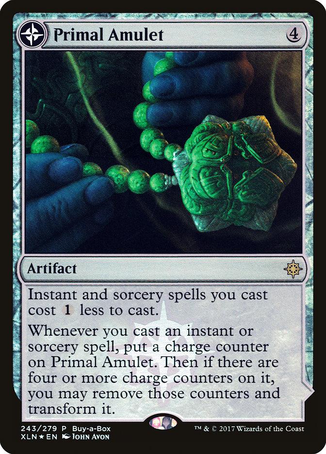 Primal Amulet // Primal Wellspring - Treasure Chest Promo