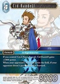 Cid Randell - 4-035R - Foil
