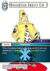 Gestahlian Empire Cid - 4-026H - Foil