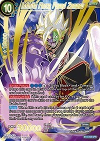 Infinite Force Fused Zamasu (SPR) - BT2-058 - SPR