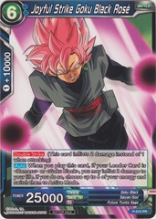 Joyful Strike Goku Black Rose (Foil Version) - P-015 - PR on Channel Fireball