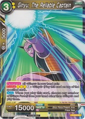 Ginyu, The Reliable Captain (Non-Foil Version) - P-019 - PR