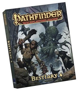 Pathfinder Rpg: Bestiary 4 Pocket Edition