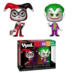 Vynl.: DC Heroes - Harley Quinn And The Joker