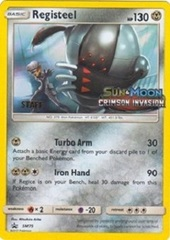 Registeel - SM75 (Staff Prerelease Promo) - SM Black Star Promo