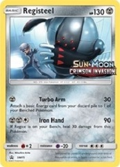 Registeel - SM75 (Prerelease Promo) - SM Black Star Promo