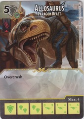 Allosaurus - Paragon Beast (Die and Card Combo)