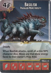 Basilisk - Paragon Monstrosity (Die and Card Combo)