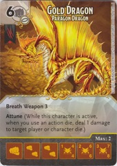 Gold Dragon - Paragon Dragon (Die and Card Combo)