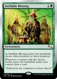 Ineffable Blessing (C - White/Silver-Bordered)