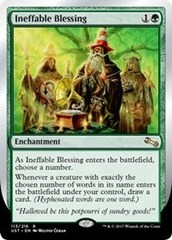 Ineffable Blessing (F) (2nd line: choose a number) - Foil