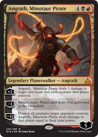 Angrath, Minotaur Pirate - Foil - Planeswalker Deck Exclusive