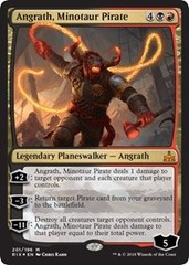 Angrath, Minotaur Pirate - Foil - Planeswalker Deck Exclusive on Channel Fireball