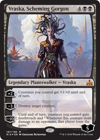 Vraska, Scheming Gorgon - Foil - Planeswalker Deck Exclusive