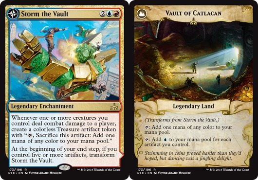 Storm the Vault // Vault of Catlacan