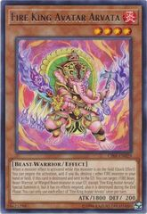 Fire King Avatar Arvata - CIBR-EN029 - Rare - Unlimited Edition