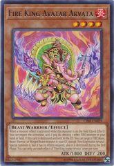 Fire King Avatar Arvata - CIBR-EN029 - Rare - Unlimited Edition