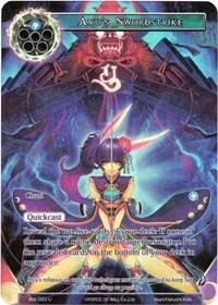 Ayus Swordstrike (Full Art) - ADK-063 - U