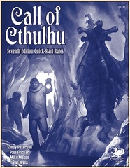 Call of Cthulhu 7th - Quick Start Rules