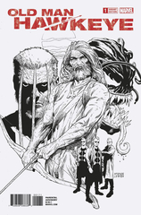 Old Man Hawkeye #1 (Of 12) Mcniven Sketch Var Leg