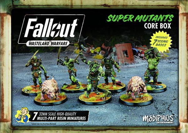 Fallout Super Mutants Core Box