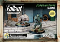 Fallout: Wasteland Warfare - Faction - Super Mutants, Hammer Set