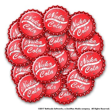 Fallout Wasteland Warfare: Nuka Cola Caps Set
