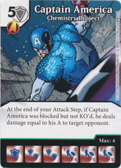 Captain America - Chemistry Project (Card Only)