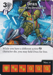 Drax - Driven by Desolation (Die and Card Combo)