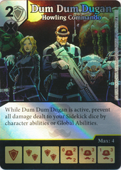 Dum Dum Dugan - Howling Commando (Die and Card Combo)