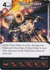 Ghost Rider - Road Rash (Die and Card Combo)