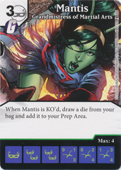 Mantis - Grandmistress of Martial Arts (Die and Card Combo)