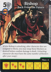 Bishop - Back From the Future (Die and Card Combo)