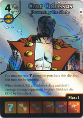 Czar Colossus - Powering the State (Die and Card Combo)