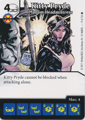 Kitty Pryde - Madam Headmistress (Die and Card Combo)