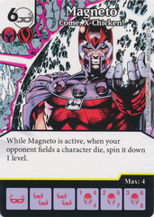 Magneto - Come, X-Chicken! (Die and Card Combo)