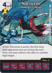 Nocturne - Shadowy Lineage (Die and Card Combo)