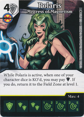 Polaris - Mistress of Magnetism (Card and Die Combo) Foil